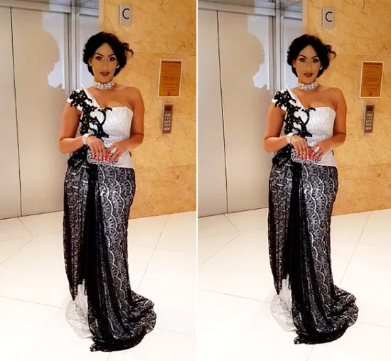 Juliet Ibrahim wows as she steps out on Sunday night