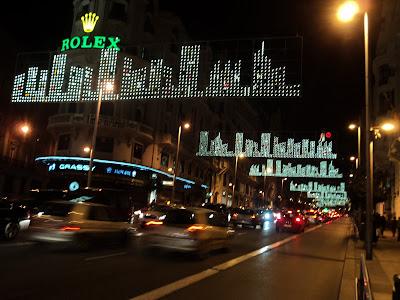 Horario Luces de Navidad 2014 - 2015 en Madrid