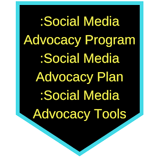 Sub heading title picture :Social media advocacy program, social media advocacy plan, social media advocacy tools