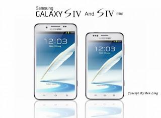 Samsung Siap Rilis Galaxy S4 Mini Dan Galaxy S4