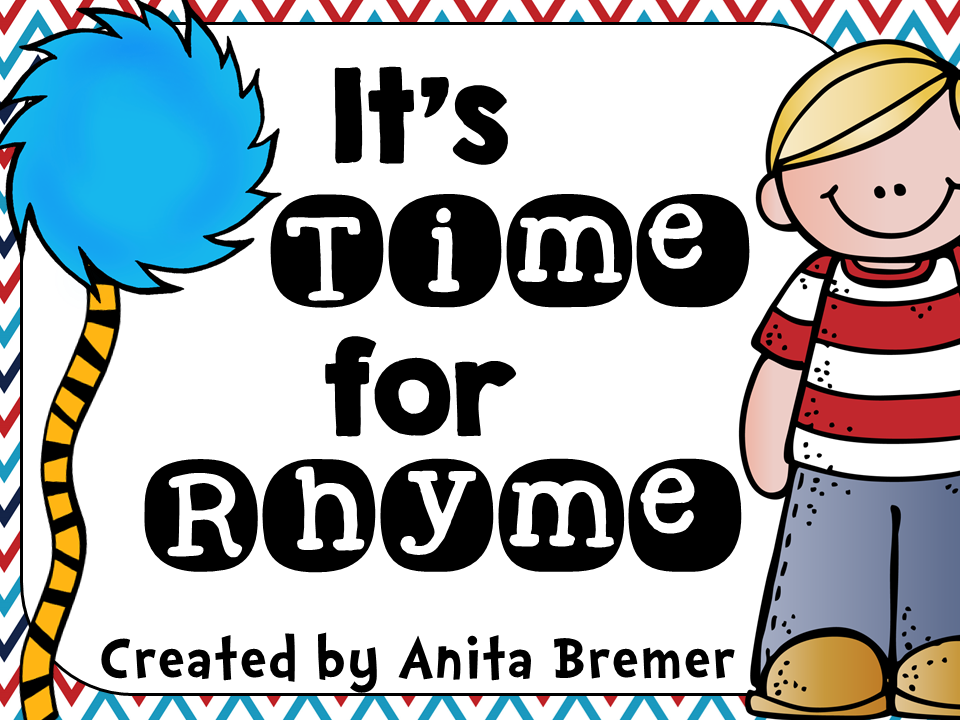 Rhyming activity pack for Kindergarten literacy centers