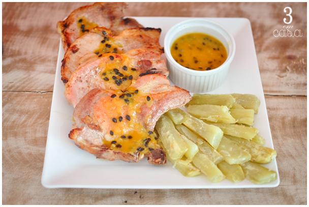 como fazer carne de porco com maracujá