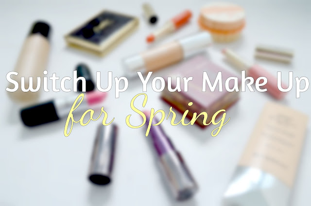 Spring make up - Changing your make up for spring - products to use in the spring and summer - product switches - Lighter formulas - summer make up