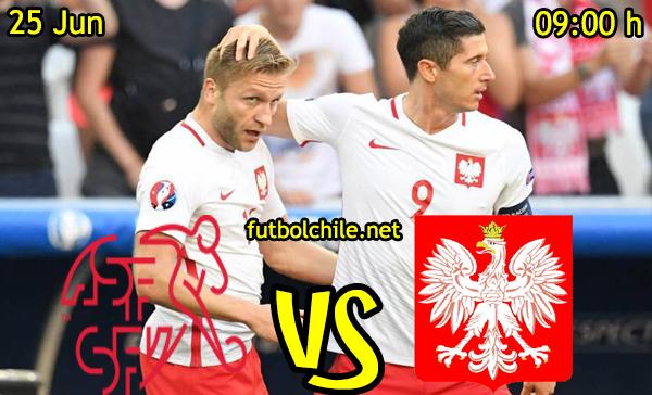 VER STREAM RESULTADO EN VIVO, ONLINE: Suiza vs Polonia