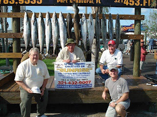 kingfish canaveral charter fishing