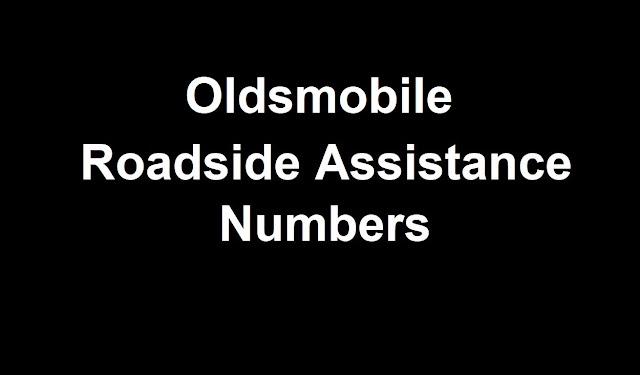 Oldsmobile Roadside Assistance Number