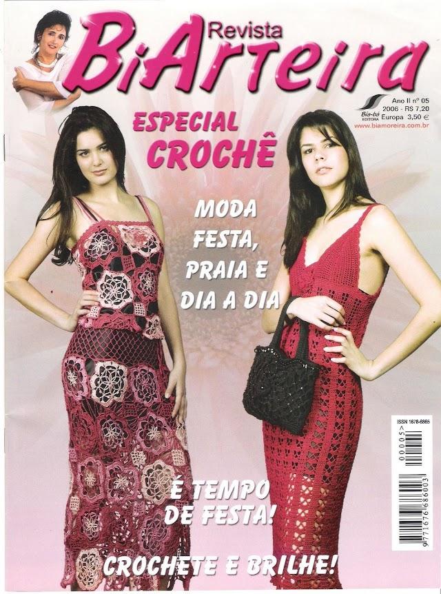 BiArteira Especial Crochê-Revista