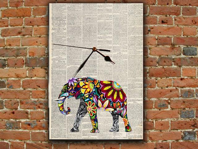 newspaper art ideas