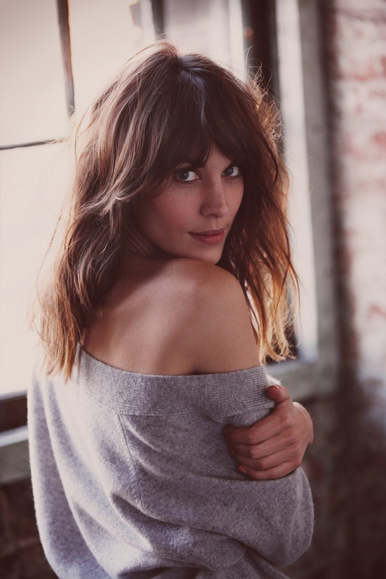 Alexa Chung shot by Guy Aroch for Fray I.D