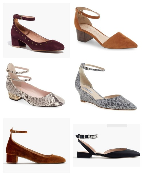 Fall trend: ankle-strap shoes