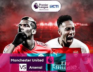 Prediksi Manchester United vs Arsenal - Liga Inggris Kamis 6 Desember 2018