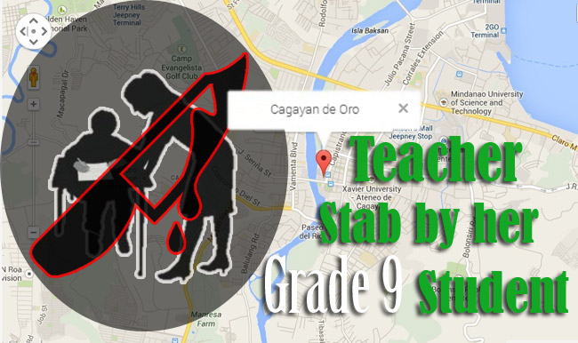 Teacher Stab by her Grade 9 Student
