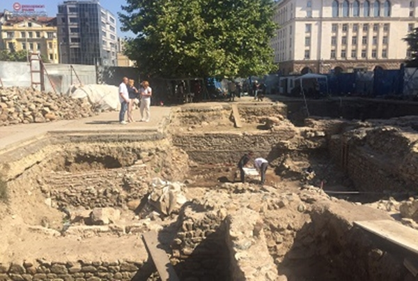 Roman era tavern, shops found under Sofia's Sveta Nedelya Square