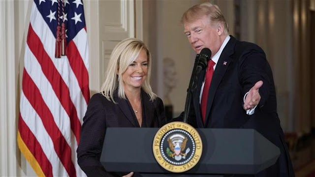 US Senate confirms Kirstjen Nielsen as head of Department of Homeland Security