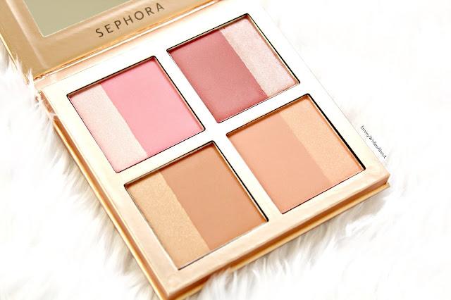 Sephora Limited Edition Winter Flush Blush Palette