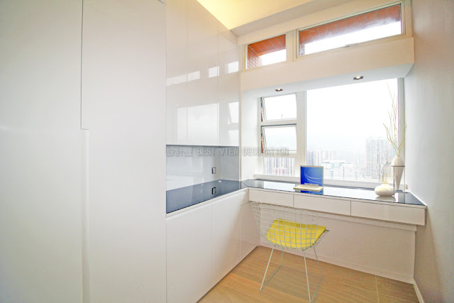 九肚山晉名峰書房室內設計,The GrandVill study interior design