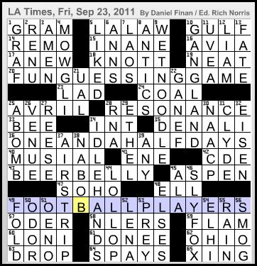 Latimes crossword corner daniel a finan wow another season has come and gone and now the days will be shorter than the nights so cuddle you cuddles and keep on solving malvernweather Image collections