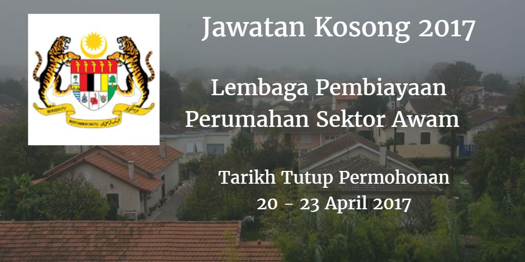 Jawatan Kosong LPPSA 20- 23 April 2017