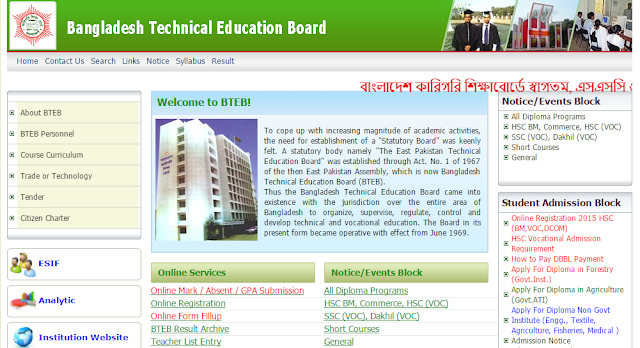 SSC Result 2016 Technical Board