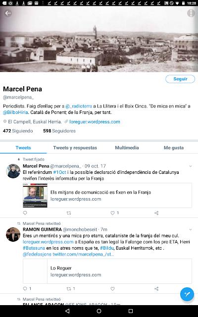 Marcel Pena, llitera, Euskal Herria, pro etarra,