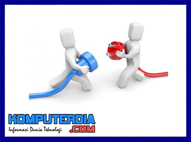 Penyebab koneksi tidak nyambung ke internet atau putus koneksi