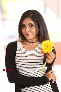 Telugu Actress Karunya Chowdary Stills in Black Dress at Soda Goli Soda Movie Opening  0106.JPG