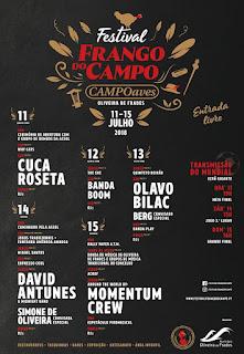 Programa Festival do Frango do Campo 2018