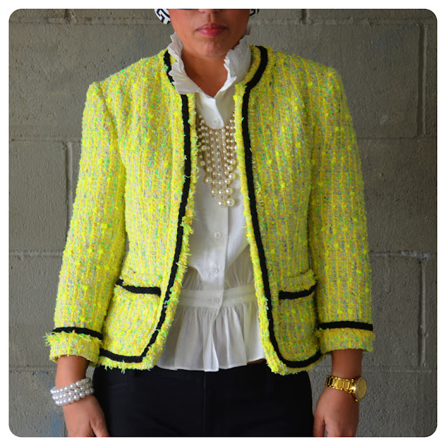 Well-liked Classic French Jacket using Vogue 7975 KD91