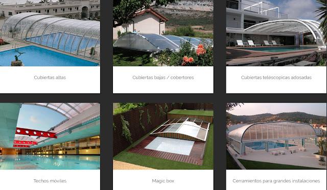 diseño y fabricación de cubiertas y cerramientos para piscinas