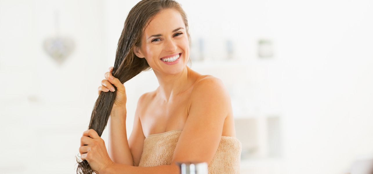 Masker rambut alami untuk rambut rontok dan kering