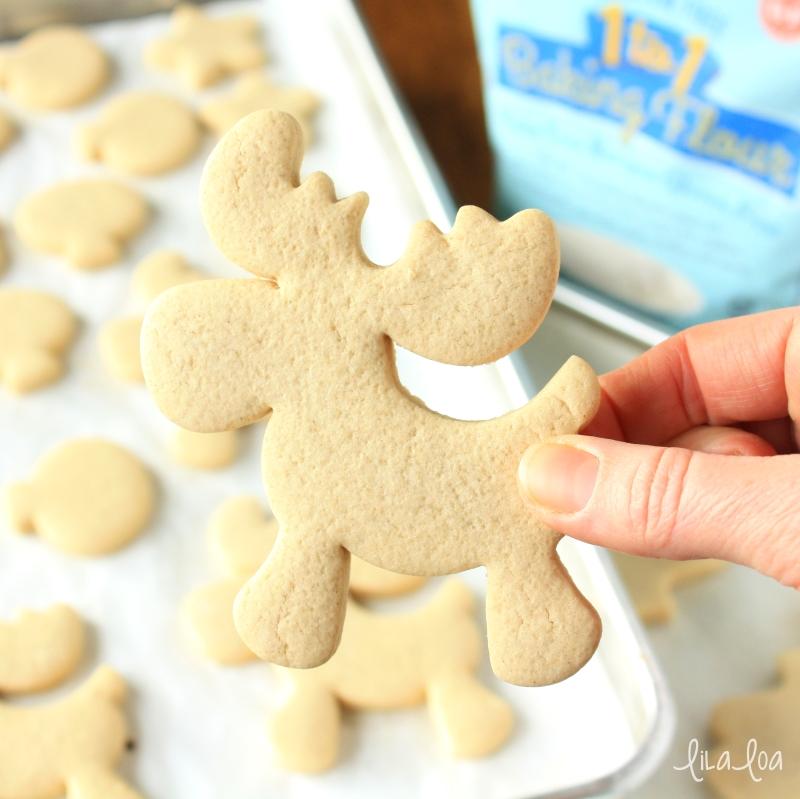 Gluten free sugar cookie recipe