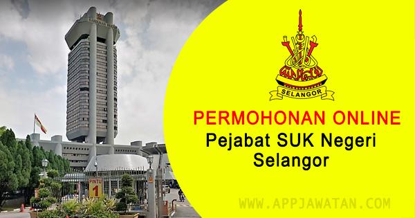 Jawatan Kosong di Pejabat SUK Negeri Selangor
