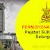 Jawatan Kosong di Pejabat SUK Negeri Selangor - 26 November 2018