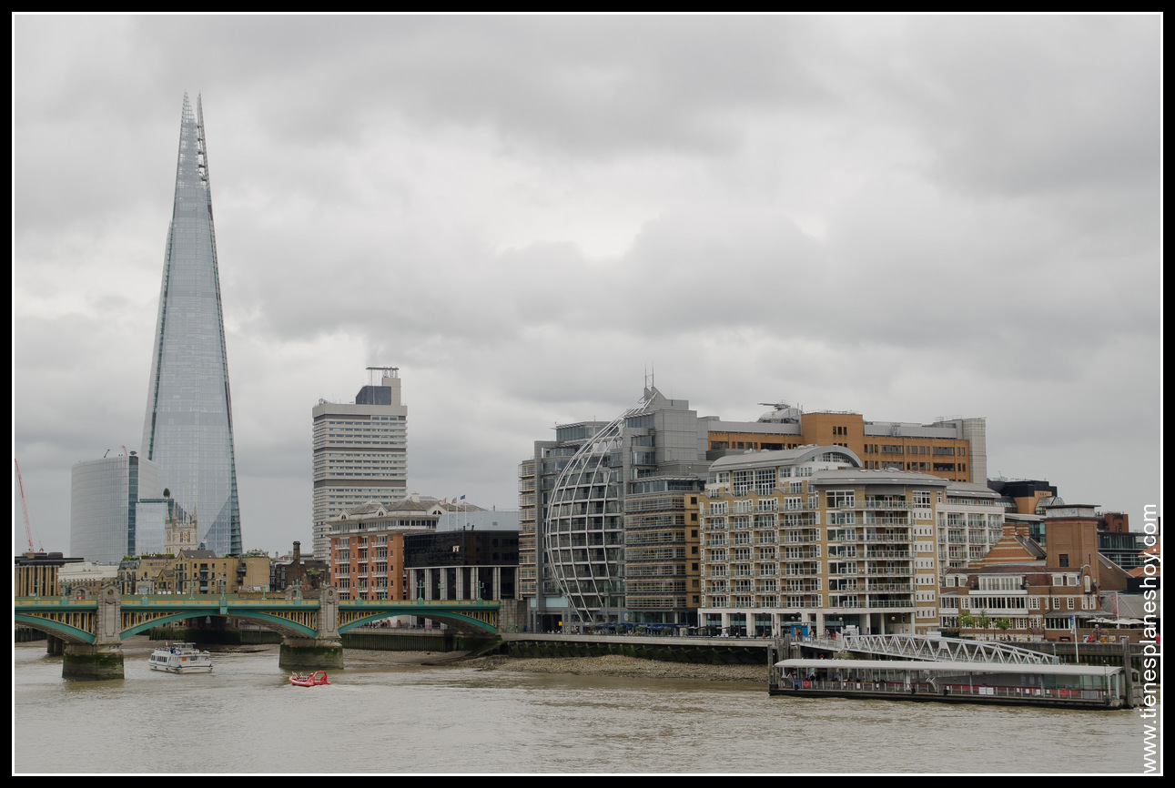 Vistas desde Milenium Bridge Londres (London)
