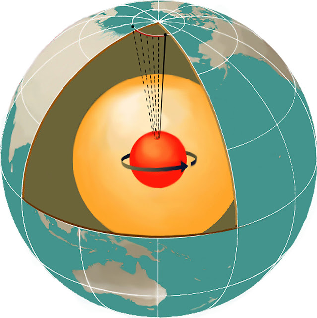 New theory explains how Earth's inner core remains solid despite extreme heat