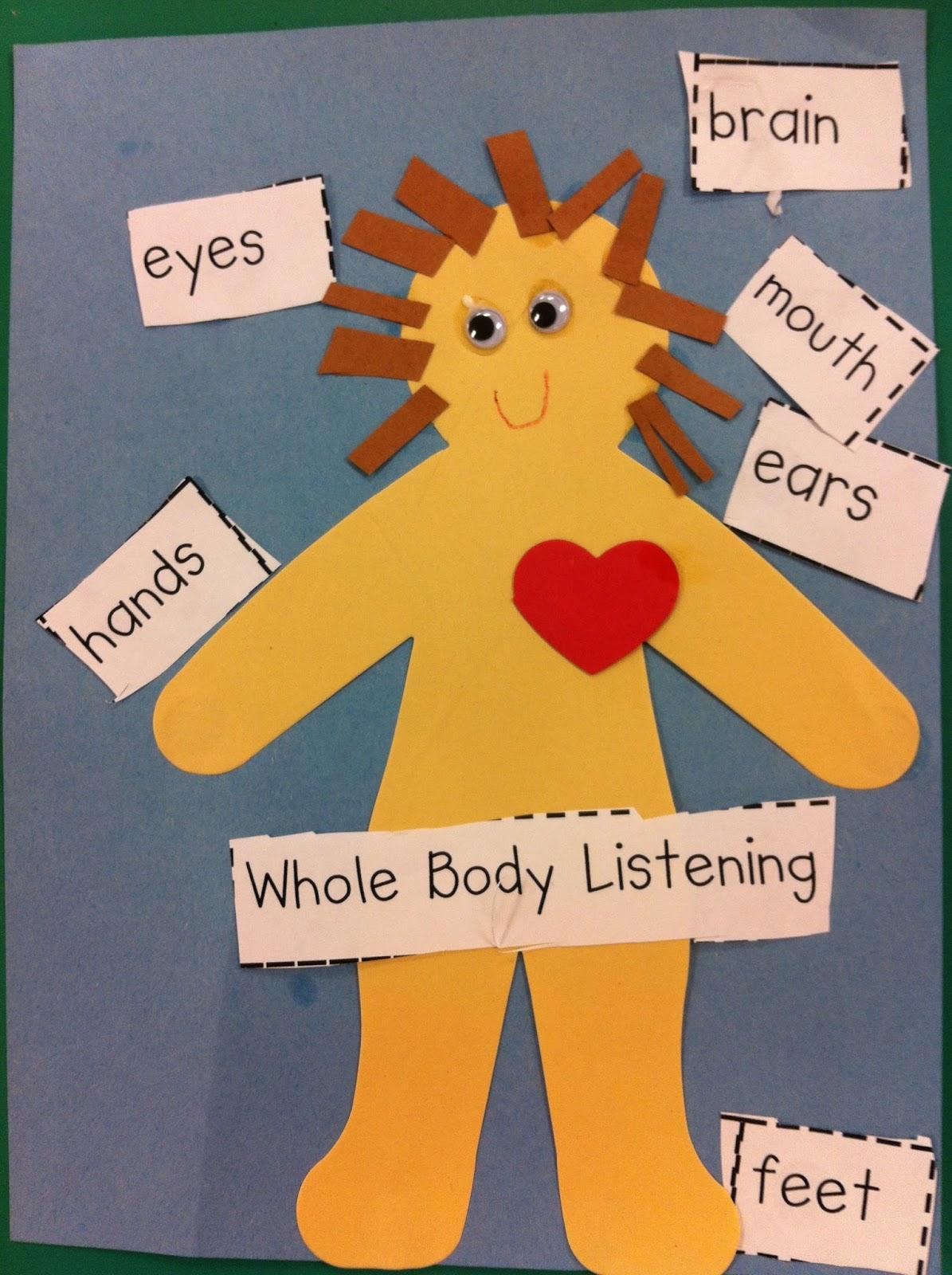 Mrs Lee S Kindergarten Whole Body Listening