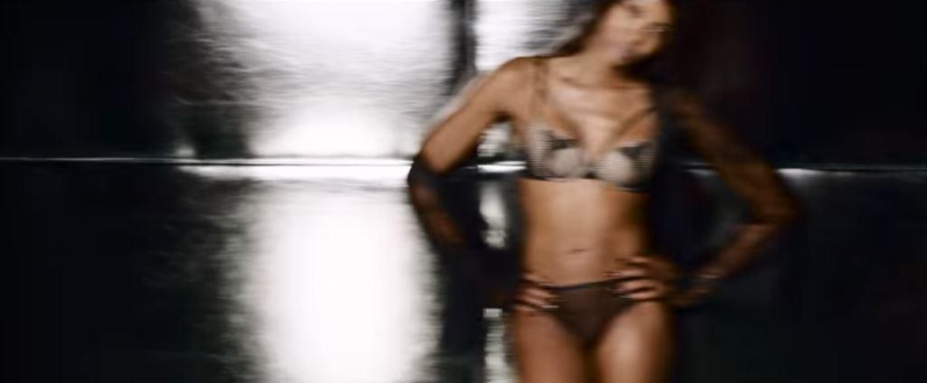 Naomi Campbel come modella di Yamamay nello spot pubblicitario 2016