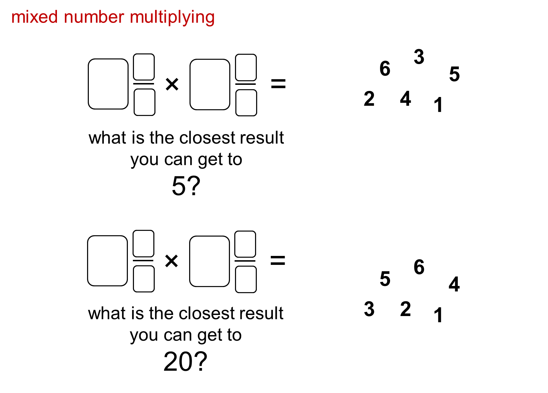 Median Don Steward Mathematics Teaching Multiplying Mixed