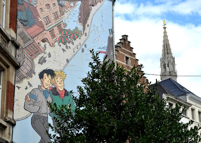 Street Art Bruxelles Parcours BD Broussaille