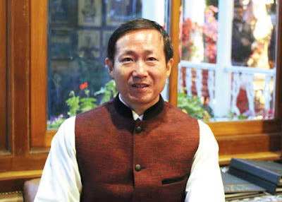 Chinese consular general, Ma Zhanwu, in Darjeeling