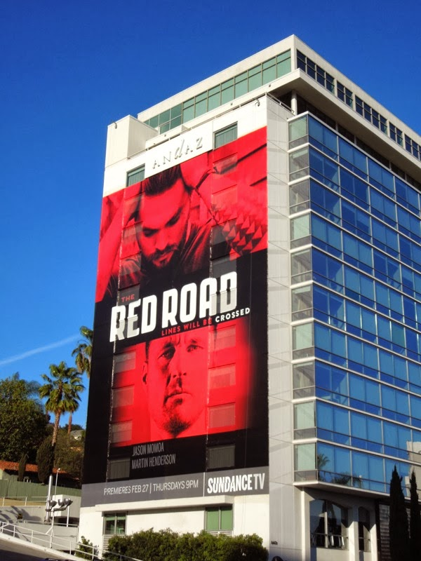 Red Road series premiere Sundance TV billboard