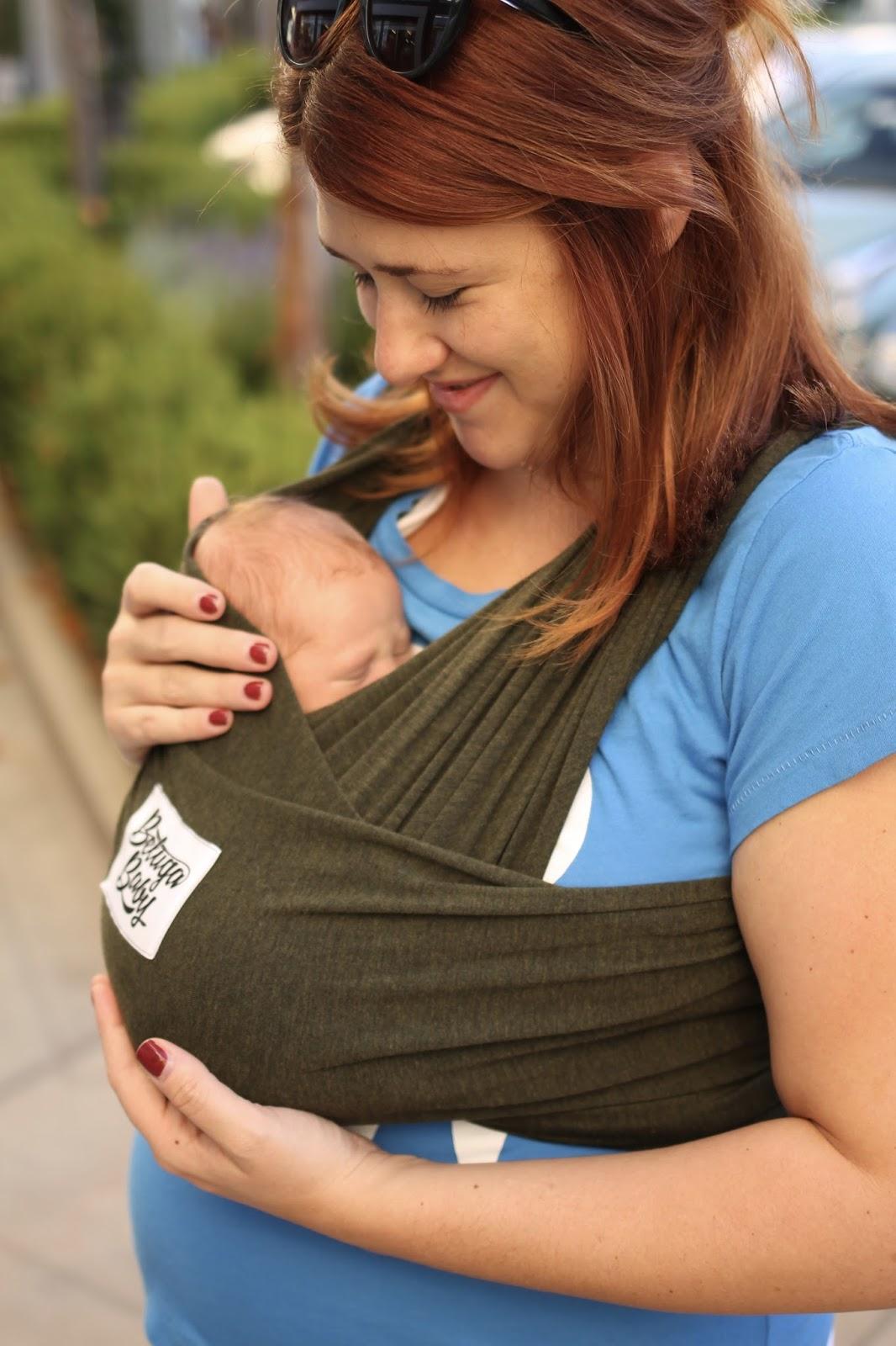 beluga baby, baby wearing, baby wrap