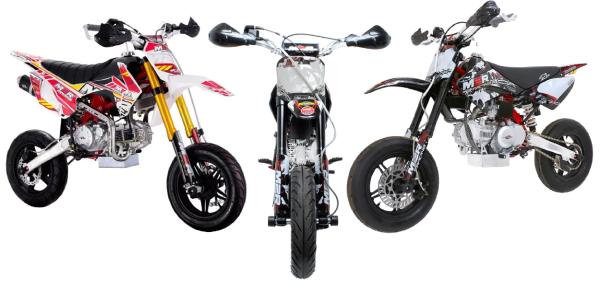 M2R Racing 160cc Supermoto Bikes