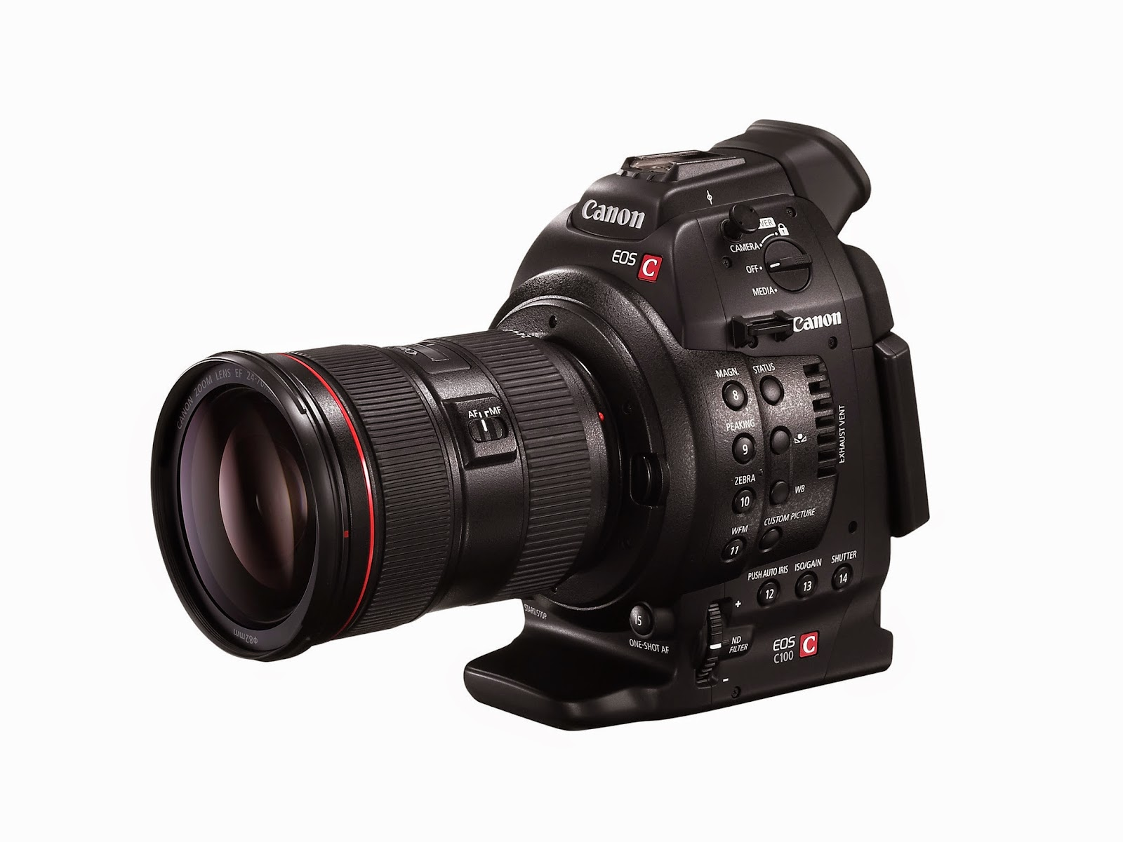 Park Cameras Blog: The Canon EOS C100 - An affordable video