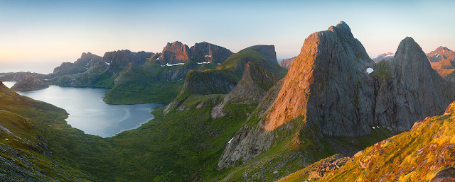 Lofoten islands, Norway, by Alex Nail