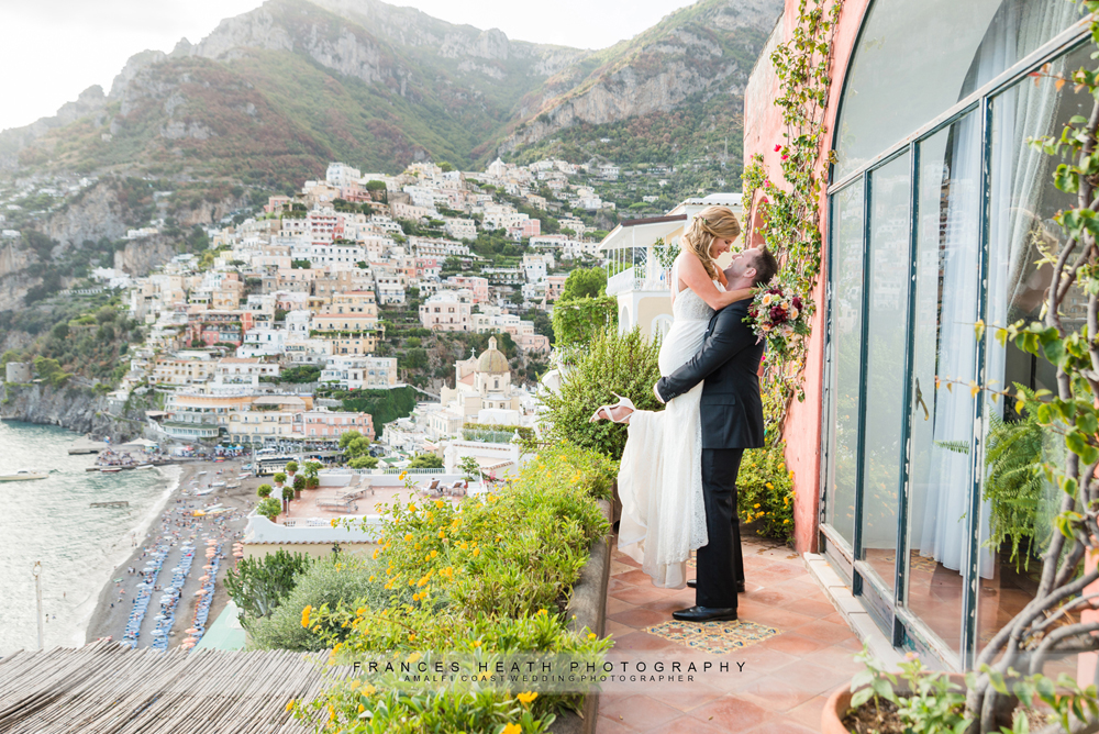 Romantic elopement wedding