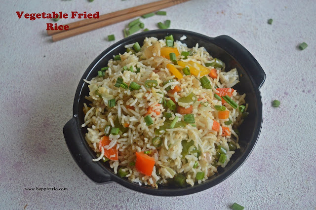 Vegetable Fried Rice Recipe | How to make restaurant style Veg Fried Rice