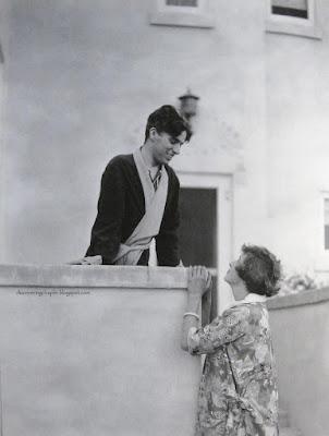 Чарли Чаплин и Клэр Шеридан