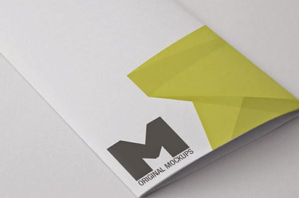 Download Brochure Mockup Gratis - TRI FOLD BROCHURE MOCKUP