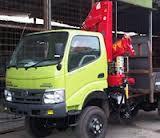truk hino dutro crane 3 ton surabaya